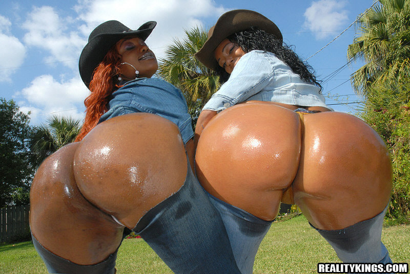 Reality Kings Big Black Oiled Asses